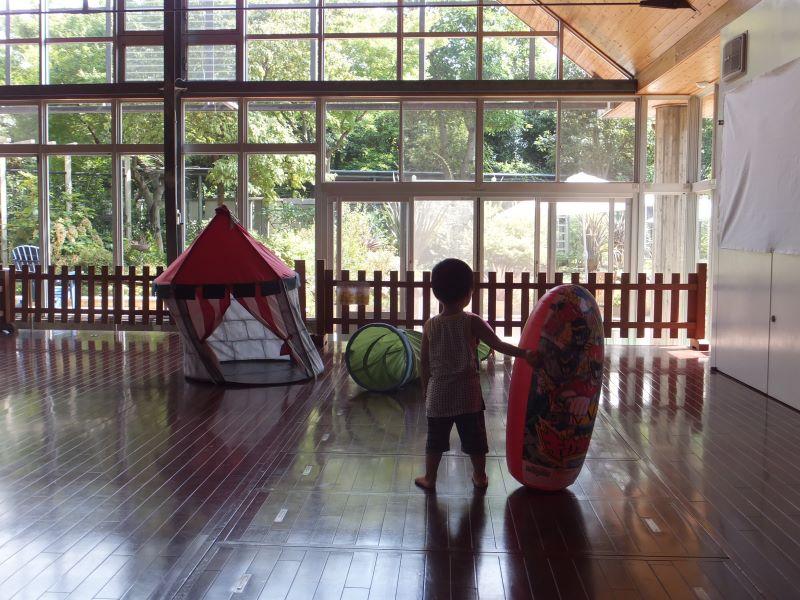 堺市都市緑化センター内の遊び場